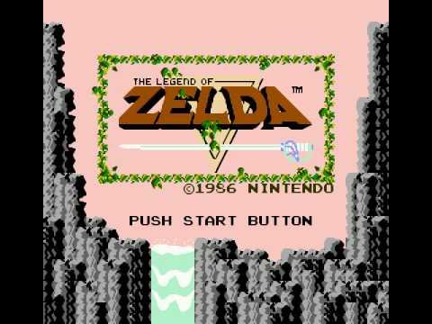 NES Zelda (Title Screen)